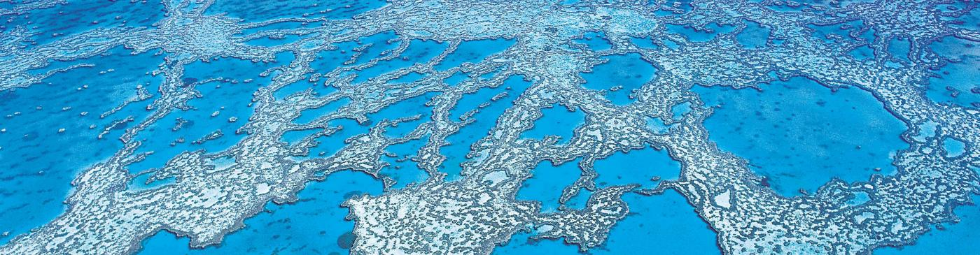 great barrier reef aerial queensland